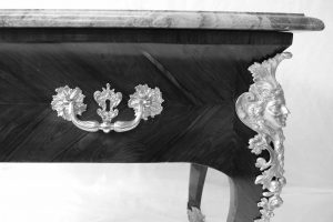restauration console perruquière Régence