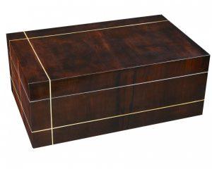 Coffret à cognac cognac box Le Dandy voyageur