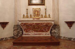 Création et décoration chapelle château Médoc