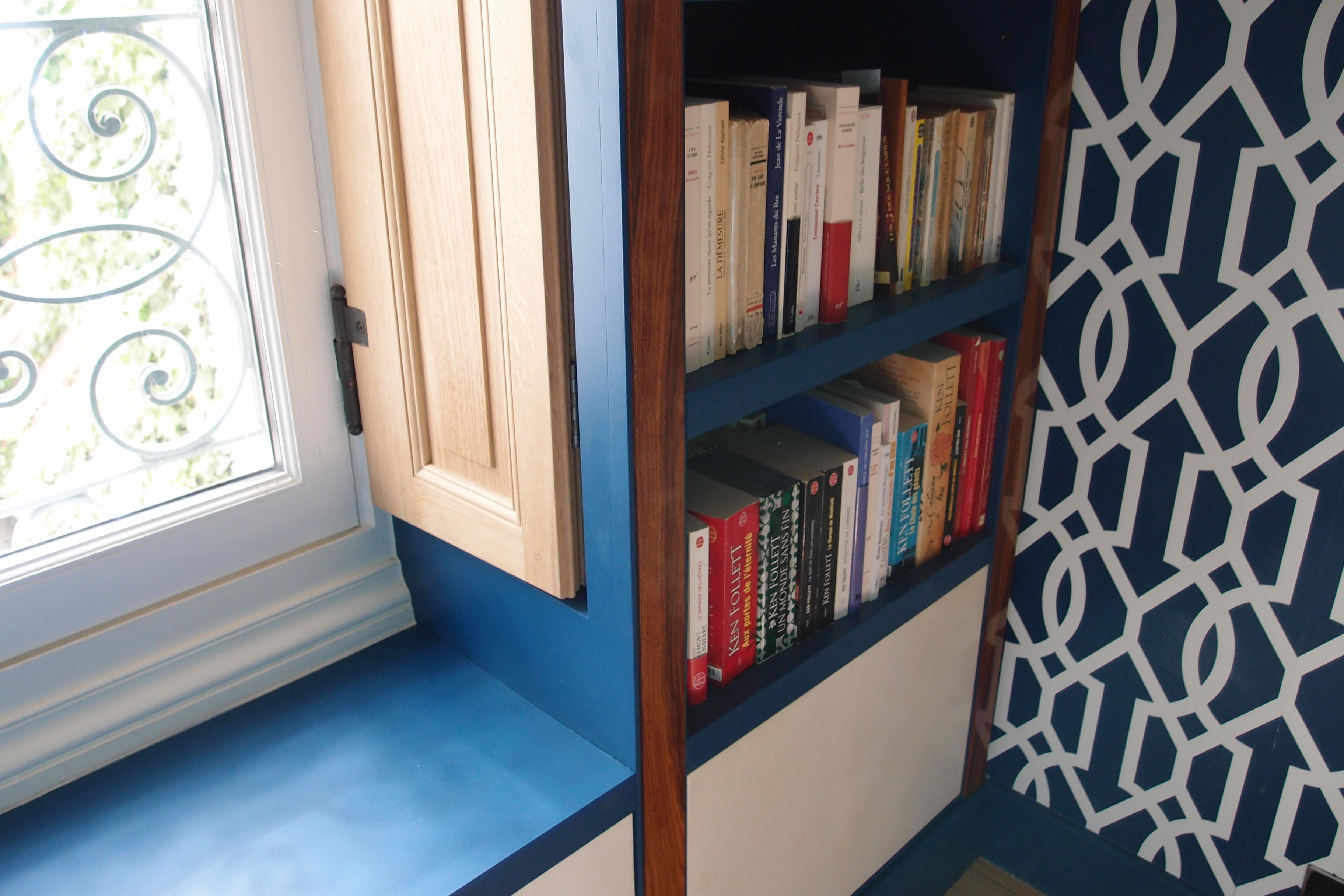 bibliothèque pour une maison Paris 7